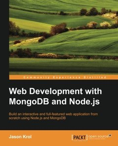 Web Development with MongoDB and Node.js-cover