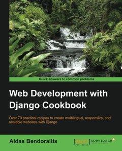 Web Development with Django Cookbook (Paperback)-cover
