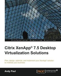 Citrix XenApp 7.5 Desktop Virtualization Solutions-cover