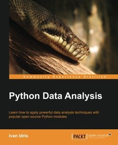 Python Data Analysis (Paperback)-cover
