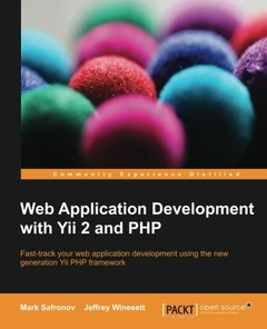 Web Application Development with Yii 2 and PHP (Paperback)-cover
