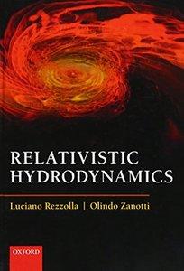 Relativistic Hydrodynamics (Hardcover)-cover