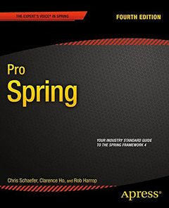 Pro Spring, 4/e (Paperback)-cover