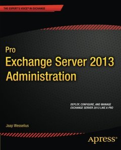 Pro Exchange Server 2013 Administration (Paperback)-cover