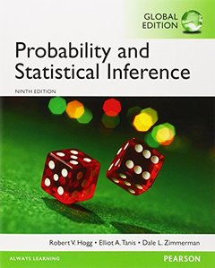 Probability and Statistical Inference, 9/e (IE-Paperback)-cover