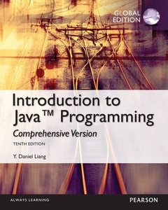Introduction to Java Programming : Comprehensive Version, 10/e (IE-Paperback)-cover