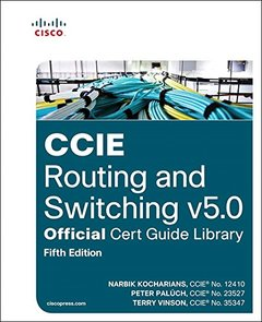 CCIE Routing and Switching v5.0 Official Cert Guide Library, 5/e (Hardcover)