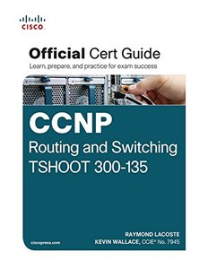 CCNP Routing and Switching TSHOOT 300-135 Official Cert Guide (Hardcover)-cover