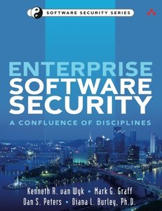 Enterprise Software Security: A Confluence of Disciplines (Paperback)-cover