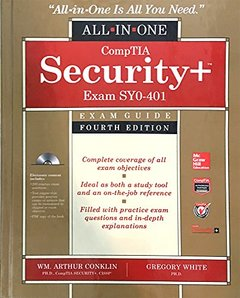 CompTIA Security+ All-in-One Exam Guide (Exam SY0-401), 4/e (Multimedia CD)-cover