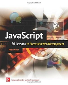 JavaScript: 20 Lessons to Successful Web Development (Paperback)-cover