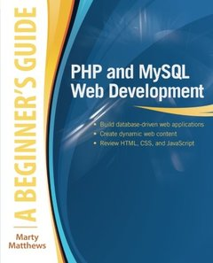 PHP and MySQL Web Development: A Beginner's Guide (Paperback)-cover