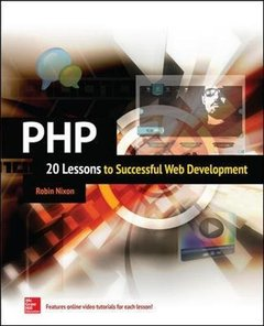 PHP: 20 Lessons to Successful Web Development (Paperback)-cover