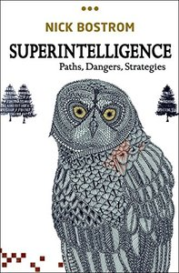 Superintelligence: Paths, Dangers, Strategies (Hardcover)-cover