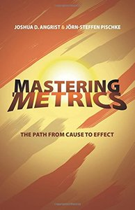 Mastering 'Metrics: The Path from Cause to Effect (Paperback)-cover