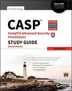 CASP CompTIA Advanced Security Practitioner Study Guide: Exam CAS-002, 2/e (Paperback)-cover