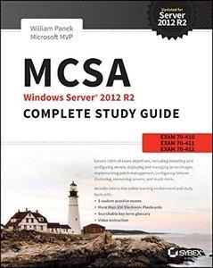 MCSA Windows Server 2012 R2 Complete Study Guide: Exams 70-410, 70-411, 70-412, and 70-417, 2/e (Paperback)-cover