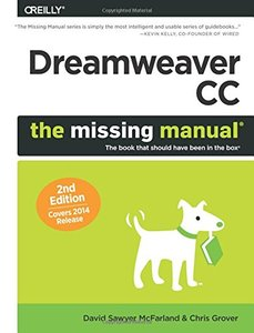 Dreamweaver CC: The Missing Manual: Covers 2014 release, 2/e (Paperback)-cover