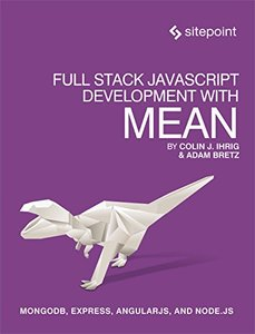 Full Stack JavaScript Development With MEAN (Paperback)-cover