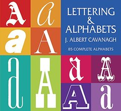 Lettering and Alphabets: 85 Complete Alphabets (Paperback)-cover
