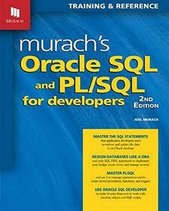 Murach's Oracle SQL and PL/SQL for Developers, 2/e (Paperback)-cover