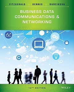 Business Data Communications and Networking, 12/e (Paperback)-cover