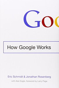 How Google Works (Hardcover)-cover
