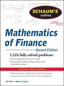 Schaum's Outline of Mathematics of Finance, 2/e (Paperback)-cover