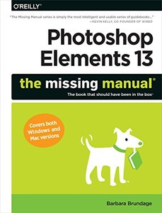 Photoshop Elements 13: The Missing Manual (Paperback)-cover