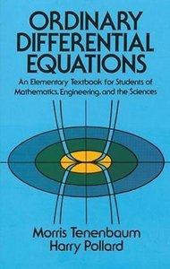 Ordinary Differential Equations (Paperback)-cover