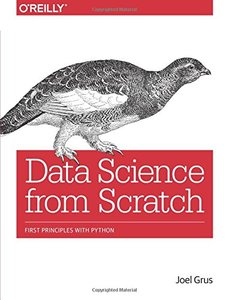 Data Science from Scratch: First Principles with Python (Paperback)-cover