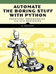 Automate the Boring Stuff with Python: Practical Programming for Total Beginners (Paperback)-cover