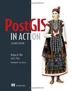 PostGIS in Action, 2/e (Paperback)-cover