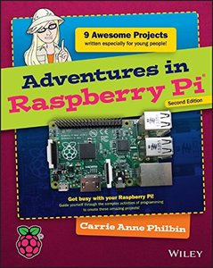 Adventures in Raspberry Pi, 2/e (Paperback)-cover