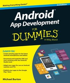Android App Development For Dummies, 3/e (Paperback)-cover