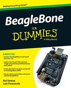 BeagleBone For Dummies (Paperback)-cover