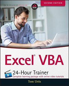 Excel VBA 24-Hour Trainer, 2/e (Paperback)-cover