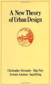 A New Theory of Urban Design (Hardcover)-cover