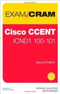 CCENT ICND1 100-101 Exam Cram, 2/e(Paperback)-cover