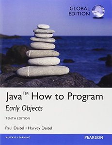 Java How To Program - Early Objects Version, 10/e (IE-Paperback)-cover