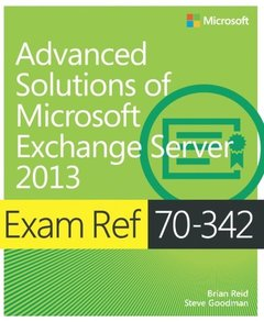 Exam Ref 70-342 Advanced Solutions of Microsoft Exchange Server 2013 (MCSE) (Paperback)-cover