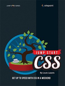 Jump Start CSS Paperback-cover