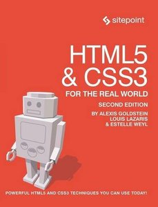 HTML5 & CSS3 For The Real World, 2/e (Paperback)-cover