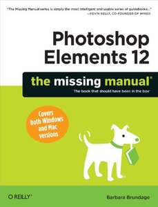 Photoshop Elements 12: The Missing Manual Paperback-cover