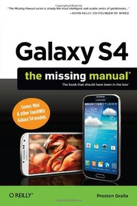 Galaxy S4: The Missing Manual Paperback-cover