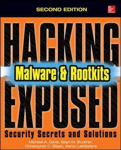 Hacking Exposed Malware & Rootkits: Security Secrets and Solutions, Second Edition-cover