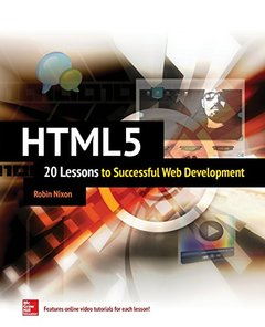 HTML5: 20 Lessons to Successful Web Development (Paperback)-cover