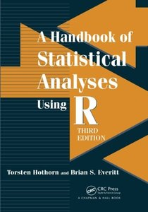 A Handbook of Statistical Analyses using R, 3/e (Paperback)-cover