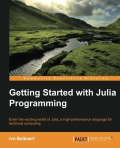 Getting started with Julia Programming Language (Paperback)-cover