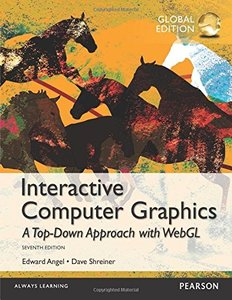 Interactive Computer Graphics: A Top-Down Approach with WebGL, 7/e (Paperback)-cover